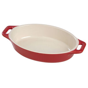 Staub Ceramic Oval Baking Dish, 15""