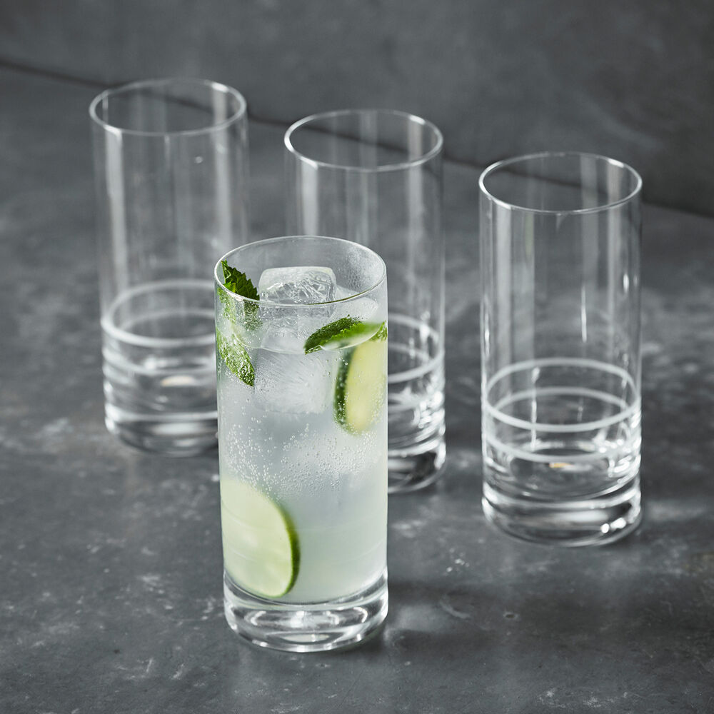 Crafthouse by Fortessa Collins Glasses, Set of 4