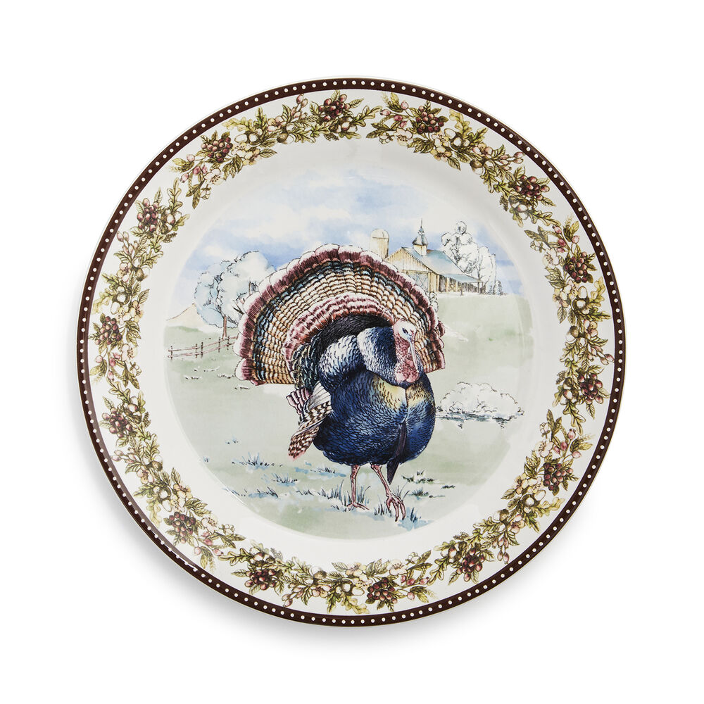 Turkey 12-Piece Dinnerware Set