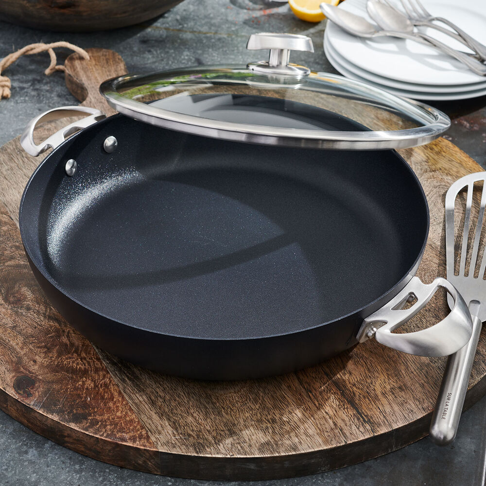 Scanpan Pro S+ Chef's Pan with Lid, 4.25 Qt.