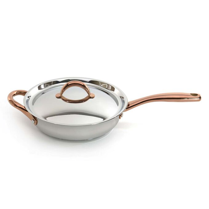 """BergHOFF Ouro Stainless Steel Deep Skillet, 9.5"""""""