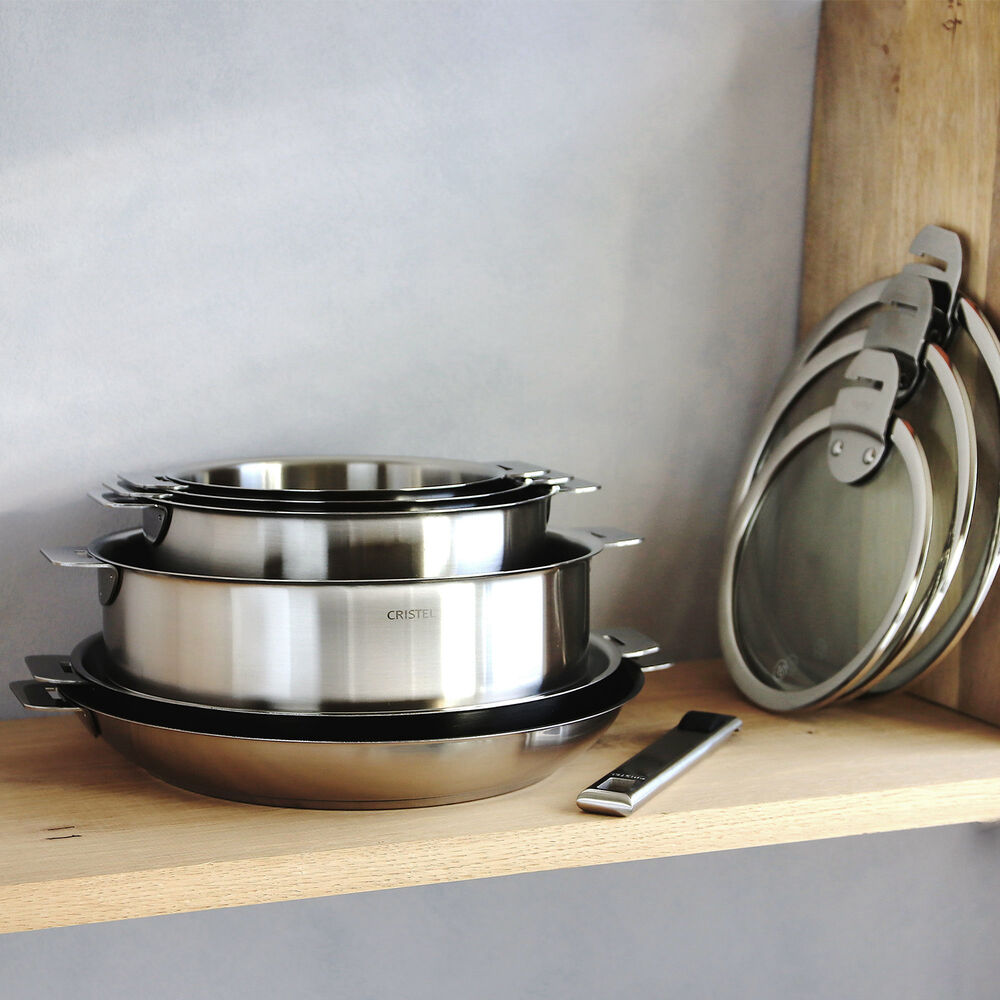 Cristel Strate 7-Piece Cookware Set