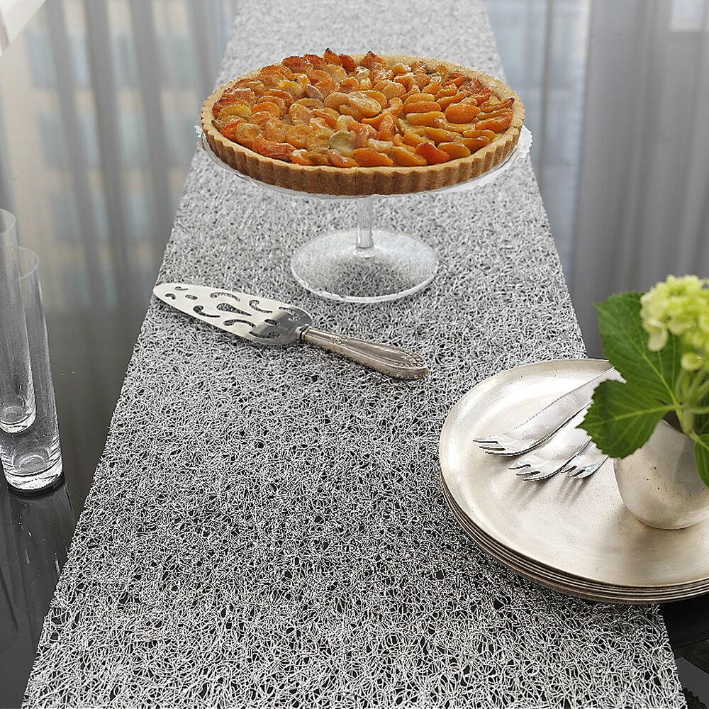 """Chilewich Lace Table Runner, 70"""" x 13"""""""