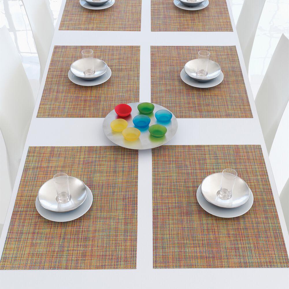 "Chilewich Mini Basketweave Placemat, 19"" x 14"""