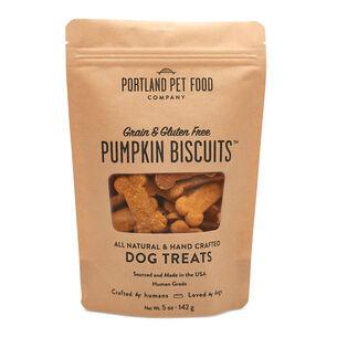 Grain- & Gluten- Free Pumpkin Dog Biscuits