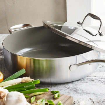 GreenPan Diamond + Evershine Sauté Pan, 5 qt.