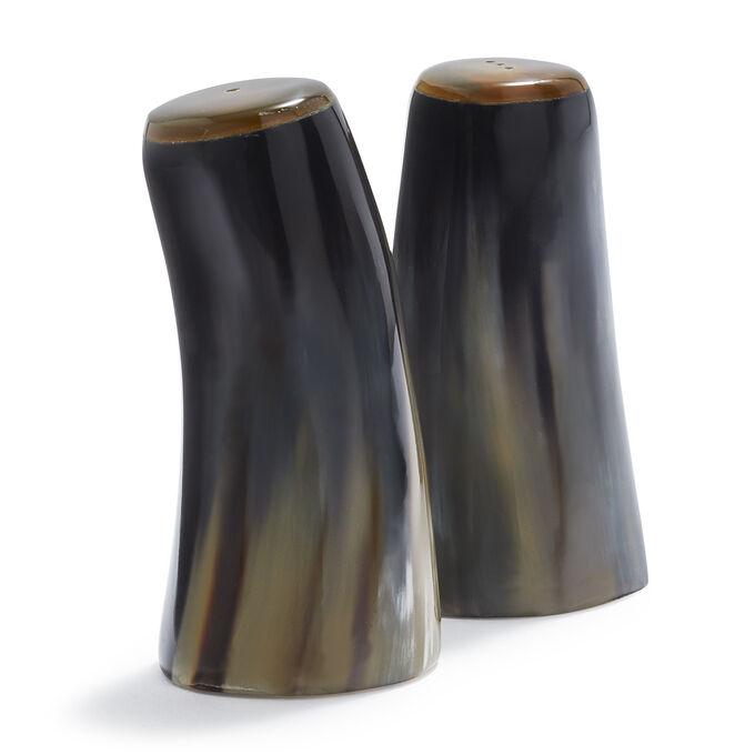 Horn Salt & Pepper Shakers