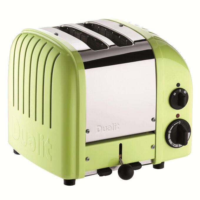 Dualit Lime-Green NewGen 2-Slice Toaster