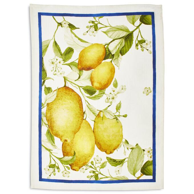 """Lemon Linen Kitchen Towel, 28"""" x 20"""""""