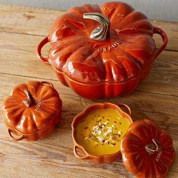 Staub Mini Pumpkin Cocotte, .5 qt
