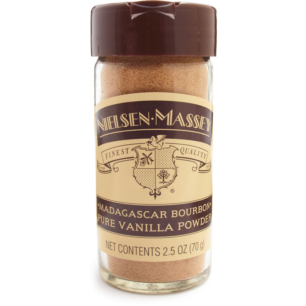 Nielsen-Massey Pure Madagascar Vanilla Powder, 2.5 oz.