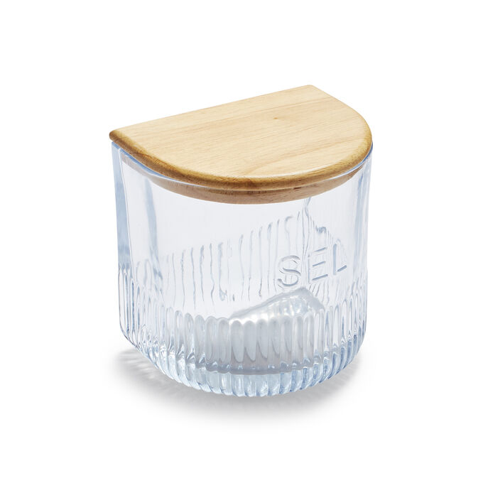 Sel Glass Salt Box