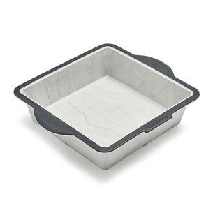 """Trudeau Structure Silicone Pro Square Cake Pan, 8"""" x 8"""""""