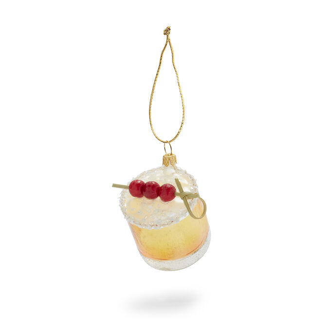 Old Fashioned Glass Ornament