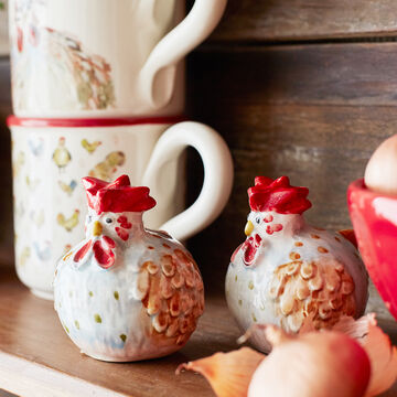 Jacques Pépin Collection Chicken Salt and Pepper Shakers