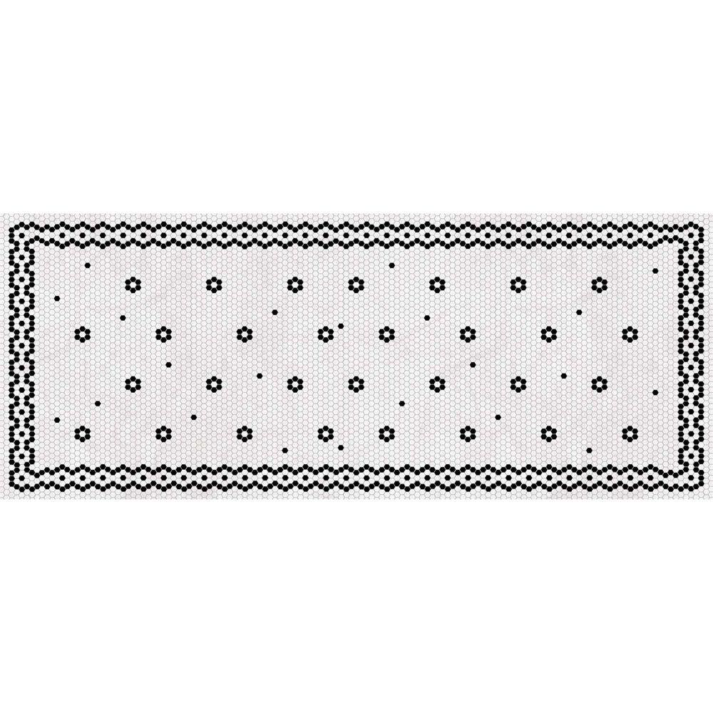 Penny Tile Vinyl Floor Mat