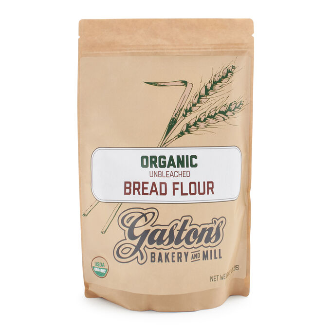 Gaston's Bakery Organic Bread Flour