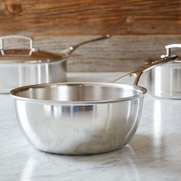 Demeyere Silver7 Conical Saucier, 2 qt.