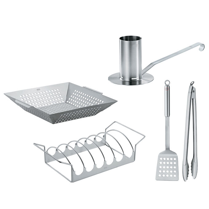 Rösle 5-Piece Ultimate BBQ Set