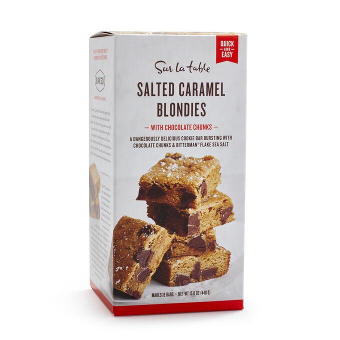 Sur La Table Salted Caramel Blondies