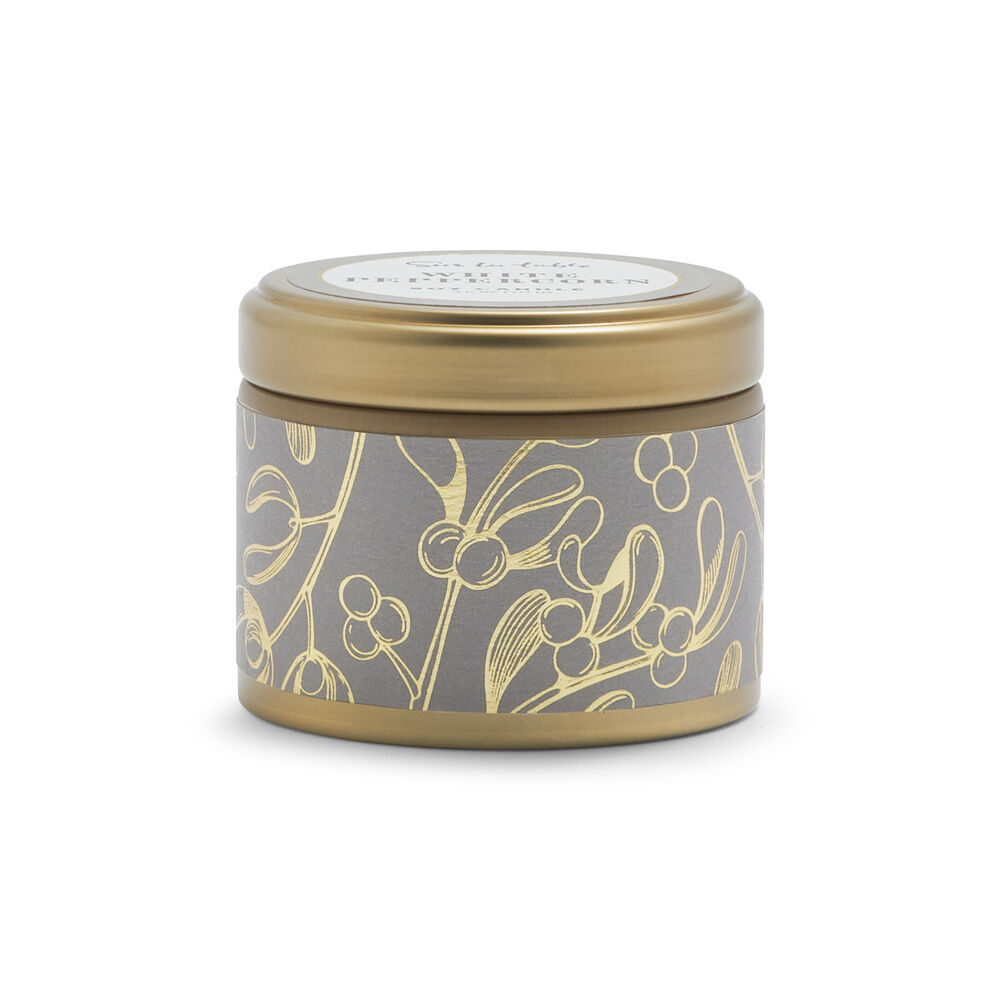 Holiday Soy Tin Candle, 3 oz.
