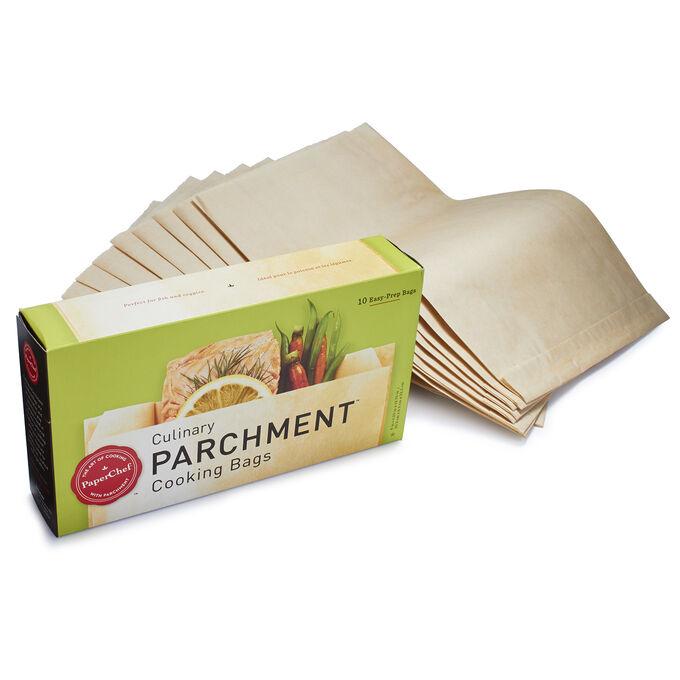 PaperChef Parchment Paper Bags, Set of 10
