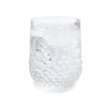 Stemless Acrylic Cherry Glass