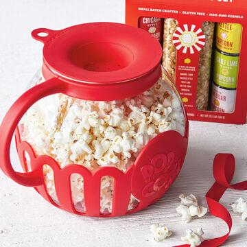 Sur La Table Glass Microwave Popcorn Popper