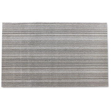 Chilewich Skinny Stripe Shag Mat, Birch