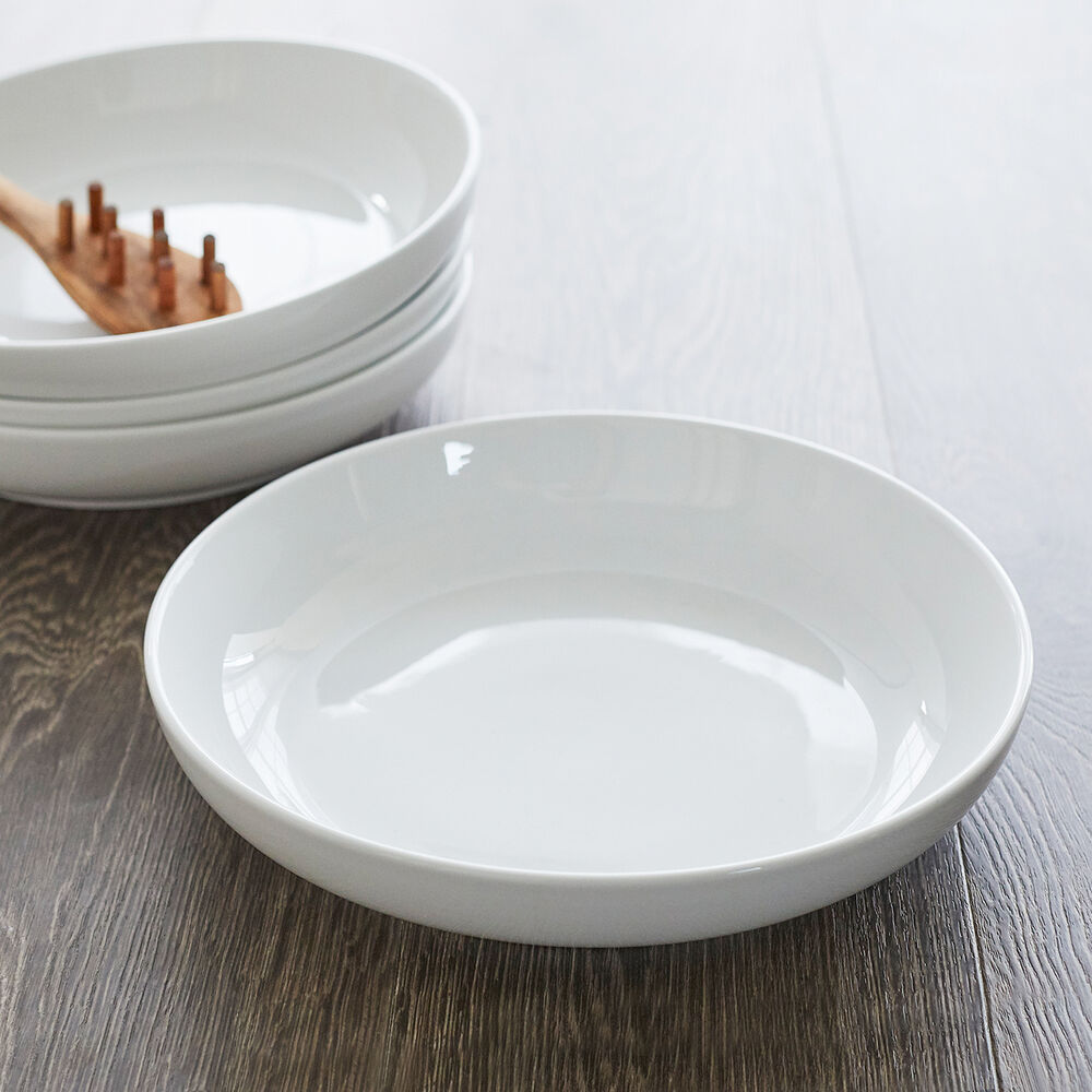 """Porcelain Pasta Bowl, 10"""""""