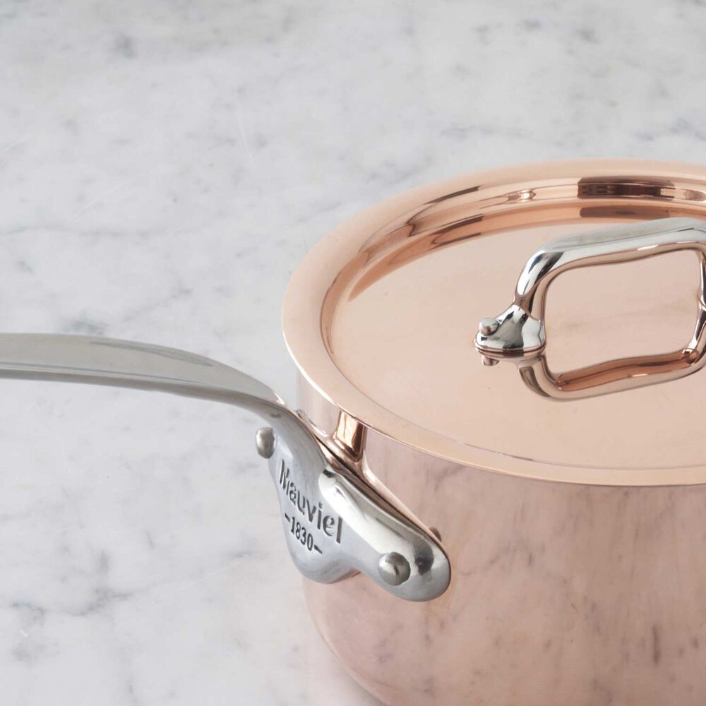 Mauviel M'héritage 150s Copper & Stainless Steel Saucepan