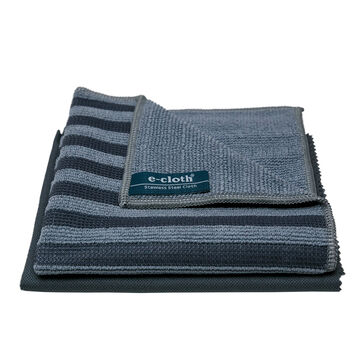 E-Cloth Stainless Steel Pack, Set of 2
