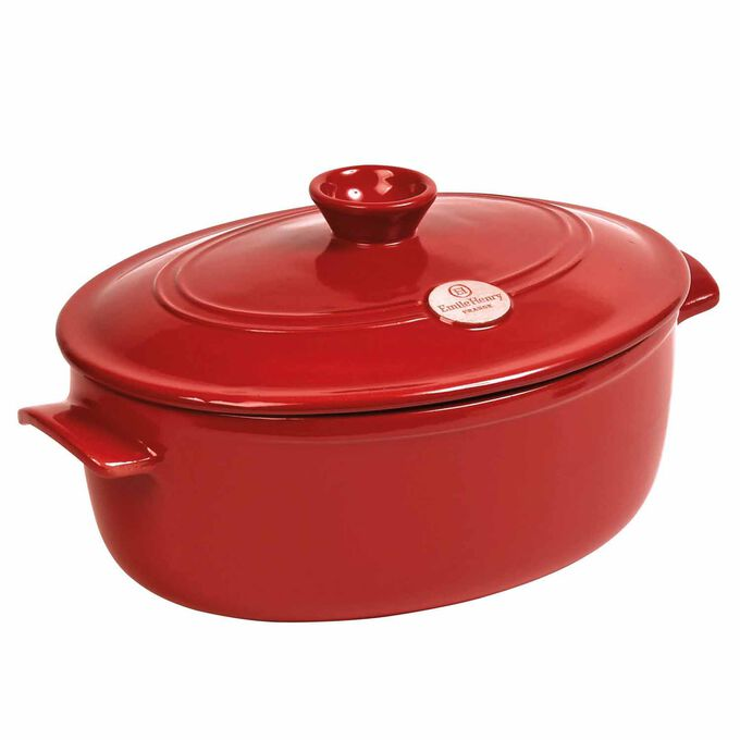 Emile Henry Flame Stewpot, 6.3 qt.