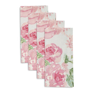 Rose Nuage Napkins, Set of 4