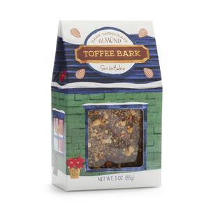Sur La Table Dark Chocolate Almond Toffee Bark Squares