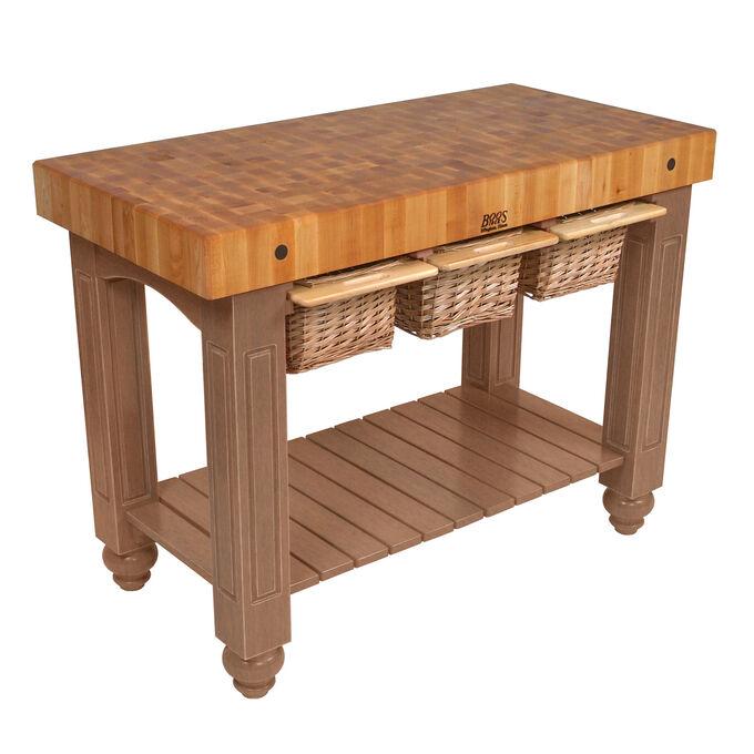 "John Boos & Co. Gathering Block Tables, 48"" x 24"""