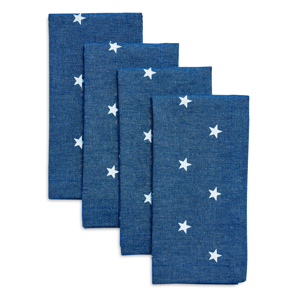 Stars Napkins, Set of 4