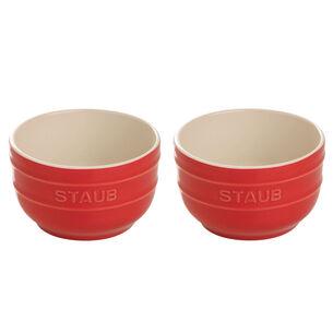 Staub Ceramic Prep Bowls, Set of 2