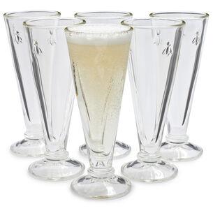 La Rochère Bee Champagne Flute, Set of 6