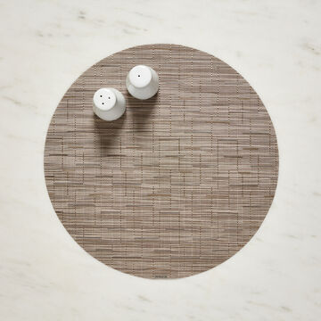 """Chilewich Bamboo Round Placemat, 15"""""""