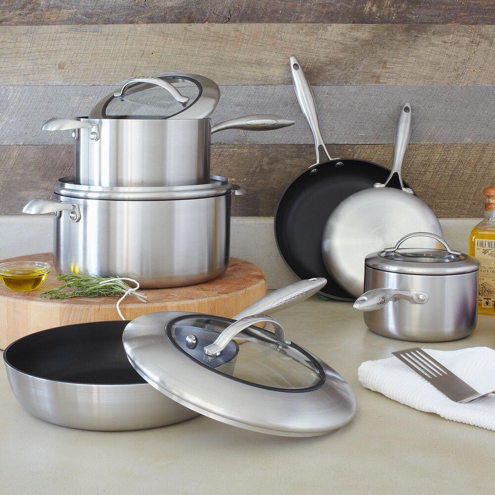 Scanpan CTX 10-Piece Nonstick Cookware Set