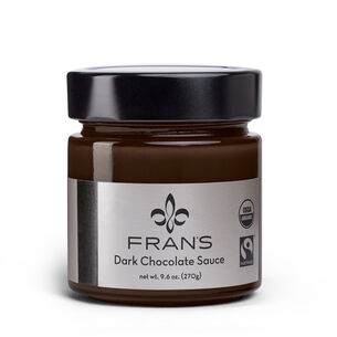 Fran's Chocolates Dark Chocolate Sauce, 9 oz.