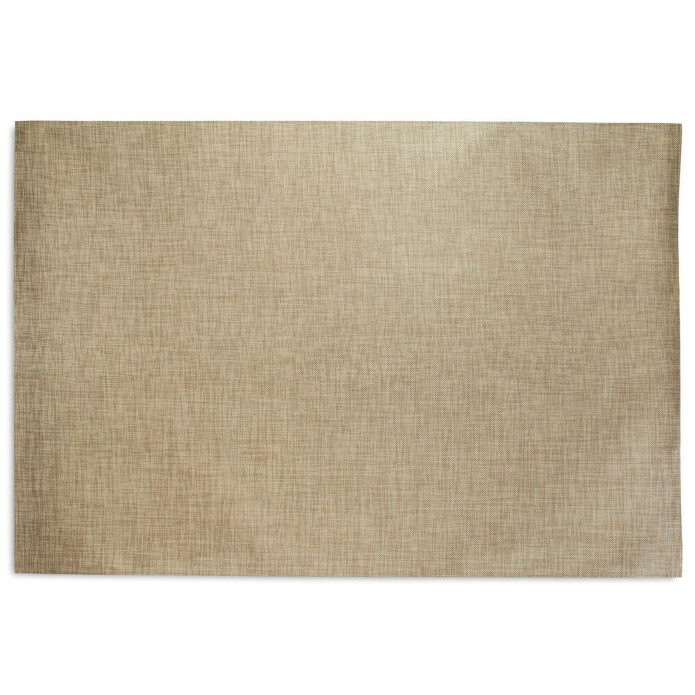 Chilewich Basketweave Floor Mat, Latte