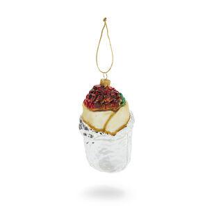 Burrito Glass Ornament