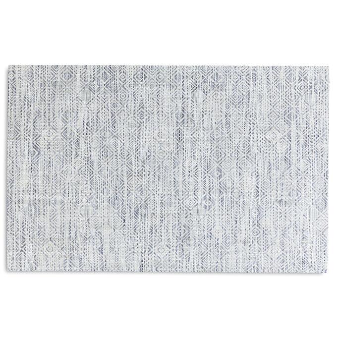 Chilewich Mosaic Floor Mat, Blue