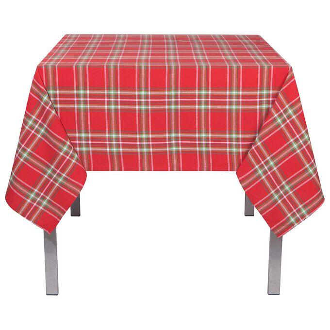 Noel Plaid Tablecloth