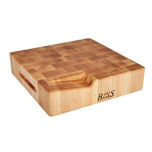 John Boos & Co. End-Grain Square Cheese Board