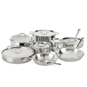 All-Clad d3 Stainless Steel 14-Piece Cookware Set