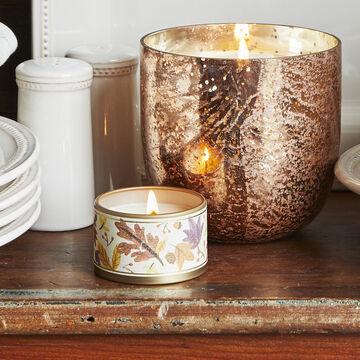 Tin Toasted-Chestnut Soy Candle, 2.5 oz.