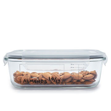 Sur La Table 10-Piece Glass Storage Container Set with Pen